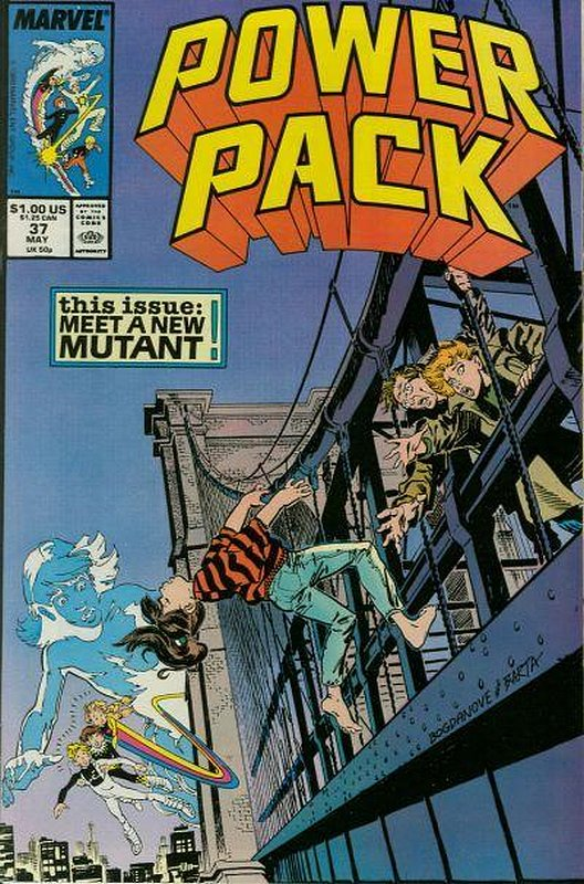 Cover of Power Pack (Vol 1) #37. One of 250,000 Vintage American Comics on sale from Krypton!