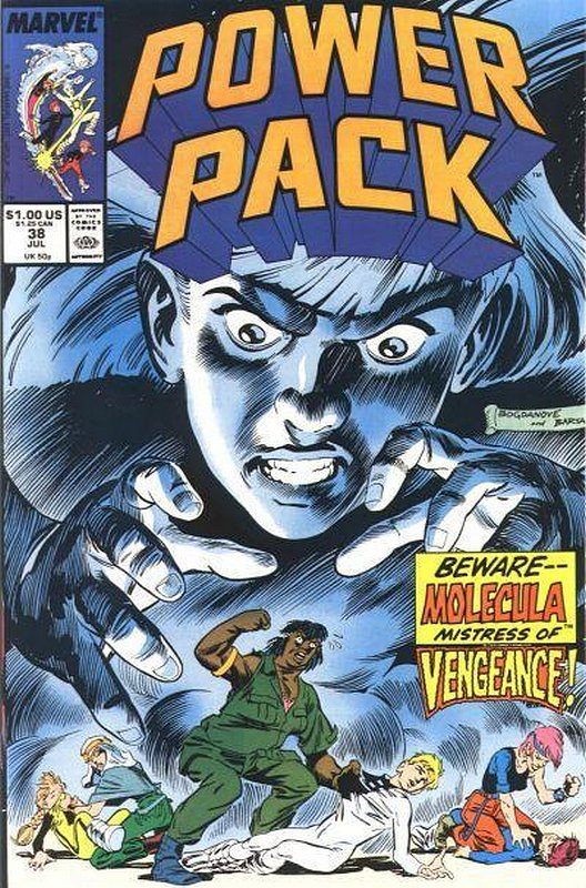 Cover of Power Pack (Vol 1) #38. One of 250,000 Vintage American Comics on sale from Krypton!
