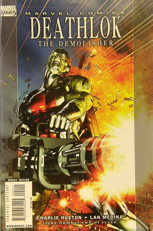Cover of Deathlok (2010 Ltd) #2. One of 250,000 Vintage American Comics on sale from Krypton!