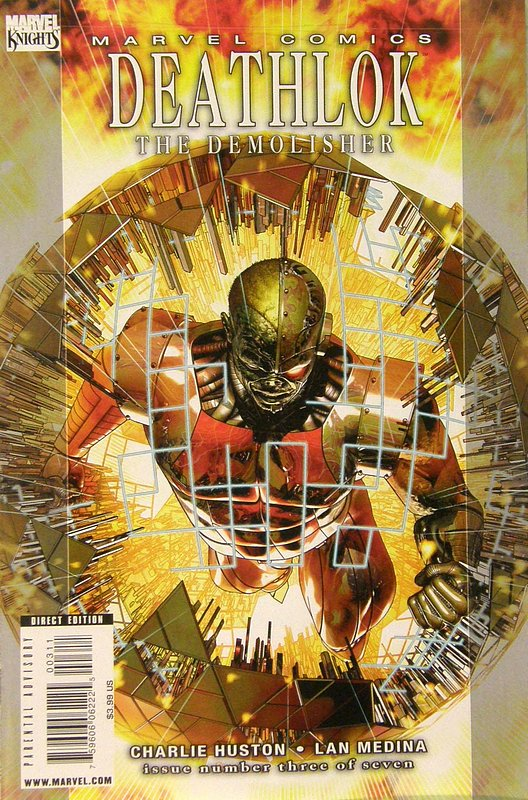 Cover of Deathlok (2010 Ltd) #3. One of 250,000 Vintage American Comics on sale from Krypton!