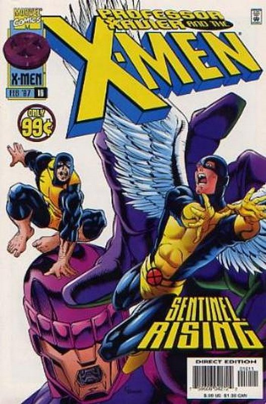 Cover of Professor Xavier & The X-Men #16. One of 250,000 Vintage American Comics on sale from Krypton!