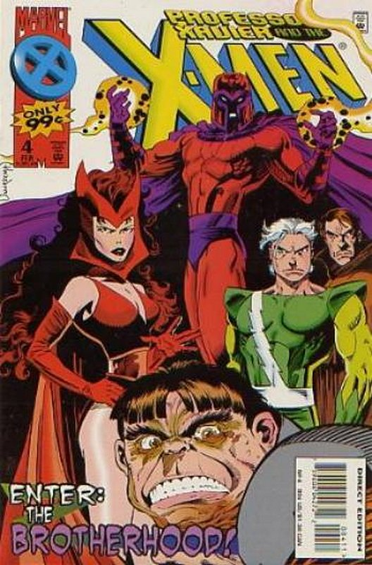 Cover of Professor Xavier & The X-Men #4. One of 250,000 Vintage American Comics on sale from Krypton!