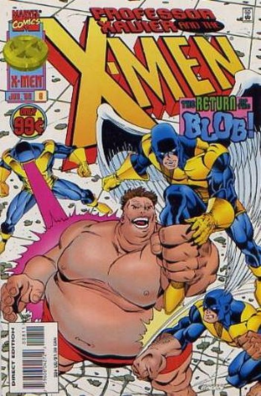 Cover of Professor Xavier & The X-Men #8. One of 250,000 Vintage American Comics on sale from Krypton!