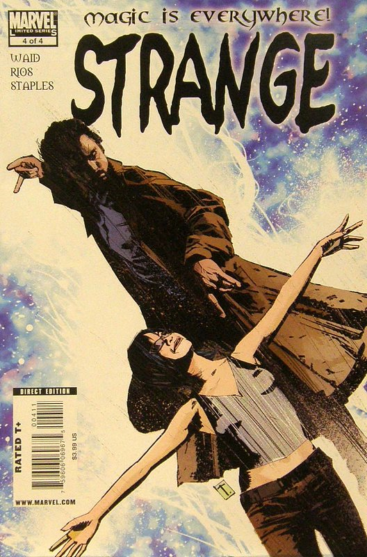 Cover of Strange (2010 Ltd) #4. One of 250,000 Vintage American Comics on sale from Krypton!