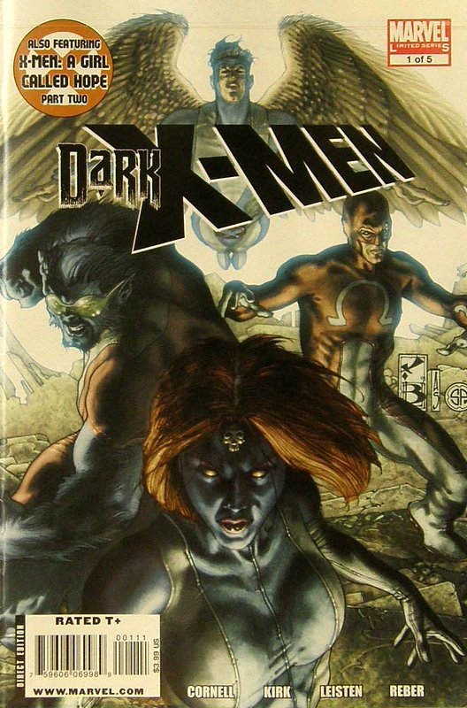 Cover of Dark X-Men (2010 Ltd) #1. One of 250,000 Vintage American Comics on sale from Krypton!