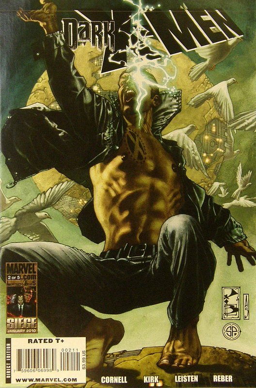 Cover of Dark X-Men (2010 Ltd) #2. One of 250,000 Vintage American Comics on sale from Krypton!