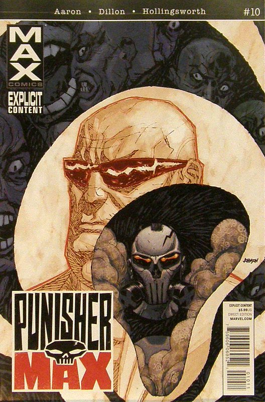 Cover of Punisher Max (Vol 2) #10. One of 250,000 Vintage American Comics on sale from Krypton!