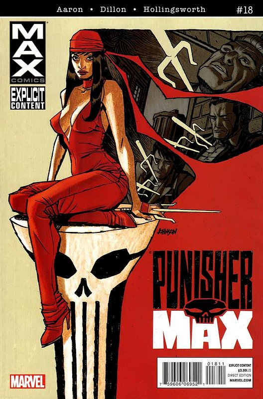 Cover of Punisher Max (Vol 2) #18. One of 250,000 Vintage American Comics on sale from Krypton!