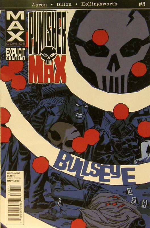 Cover of Punisher Max (Vol 2) #8. One of 250,000 Vintage American Comics on sale from Krypton!