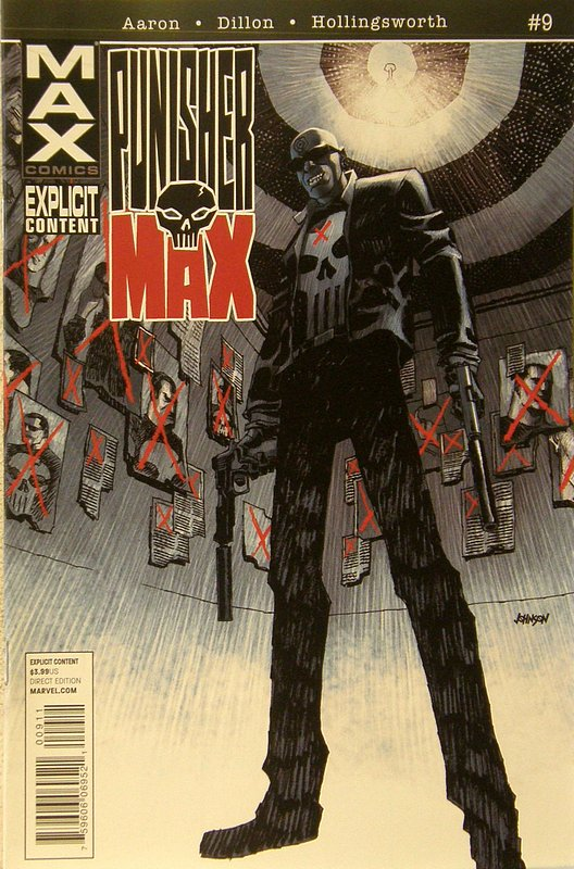 Cover of Punisher Max (Vol 2) #9. One of 250,000 Vintage American Comics on sale from Krypton!