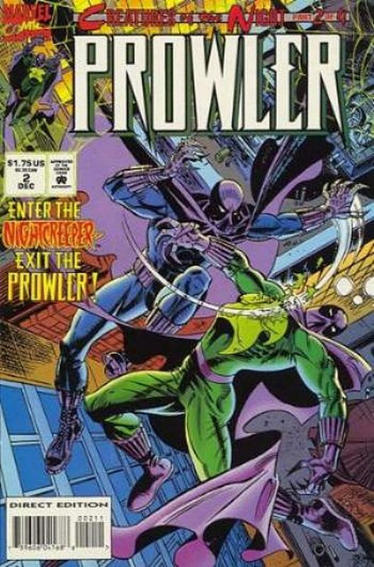Cover of Prowler (1994 Ltd) #2. One of 250,000 Vintage American Comics on sale from Krypton!