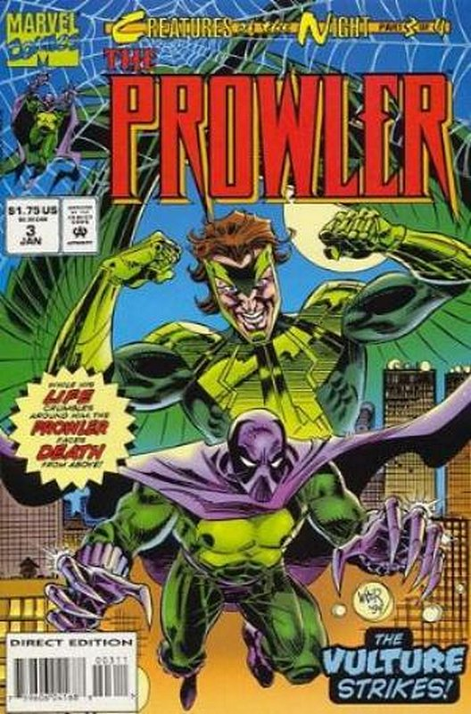 Cover of Prowler (1994 Ltd) #3. One of 250,000 Vintage American Comics on sale from Krypton!