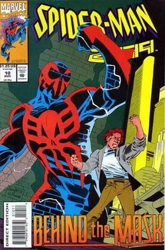Cover of Spider-Man 2099 (Vol 1) #10. One of 250,000 Vintage American Comics on sale from Krypton!