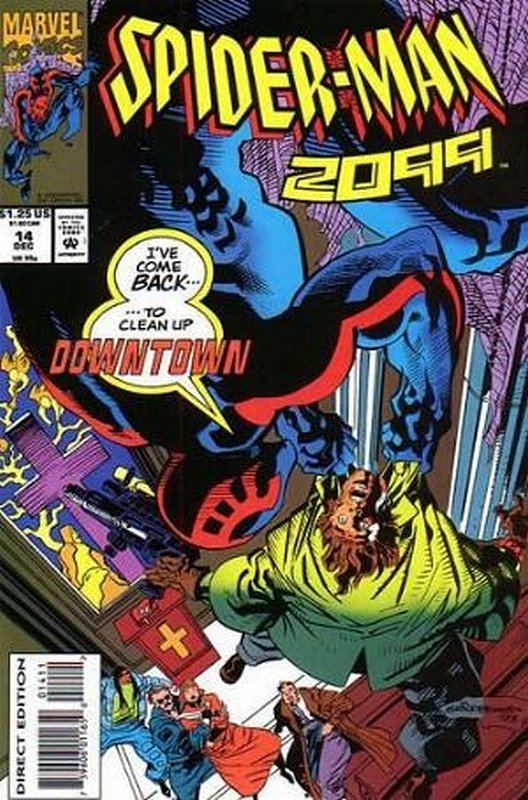 Cover of Spider-Man 2099 (Vol 1) #14. One of 250,000 Vintage American Comics on sale from Krypton!