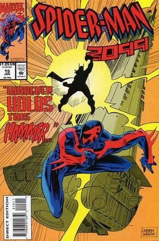 Cover of Spider-Man 2099 (Vol 1) #15. One of 250,000 Vintage American Comics on sale from Krypton!
