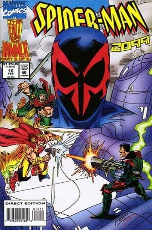 Cover of Spider-Man 2099 (Vol 1) #16. One of 250,000 Vintage American Comics on sale from Krypton!