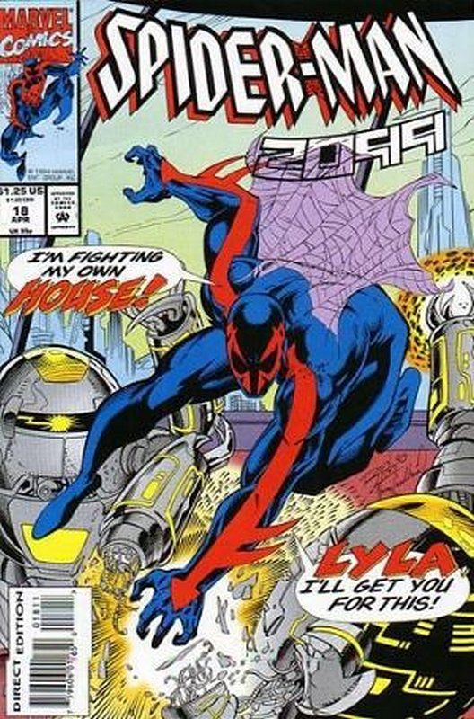 Cover of Spider-Man 2099 (Vol 1) #18. One of 250,000 Vintage American Comics on sale from Krypton!