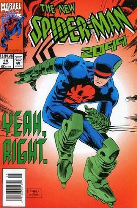 Cover of Spider-Man 2099 (Vol 1) #19. One of 250,000 Vintage American Comics on sale from Krypton!