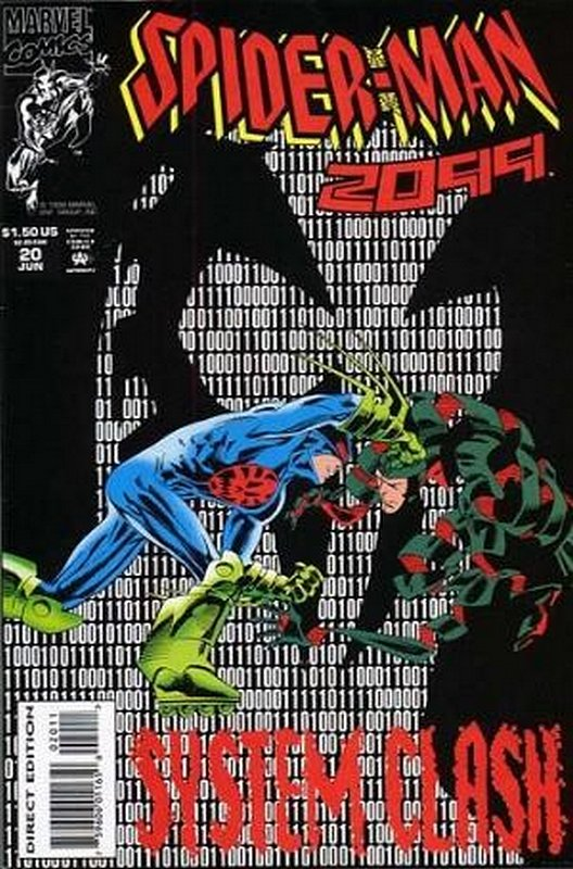 Cover of Spider-Man 2099 (Vol 1) #20. One of 250,000 Vintage American Comics on sale from Krypton!