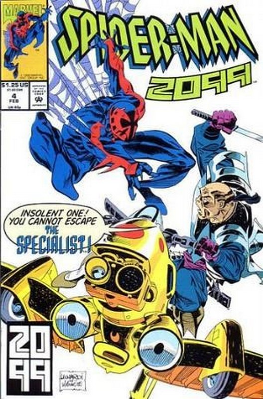 Cover of Spider-Man 2099 (Vol 1) #4. One of 250,000 Vintage American Comics on sale from Krypton!