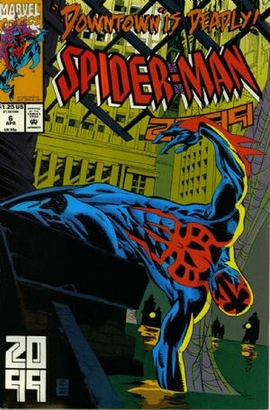 Cover of Spider-Man 2099 (Vol 1) #6. One of 250,000 Vintage American Comics on sale from Krypton!