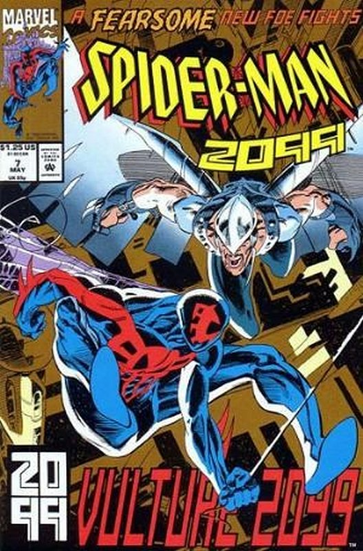 Cover of Spider-Man 2099 (Vol 1) #7. One of 250,000 Vintage American Comics on sale from Krypton!