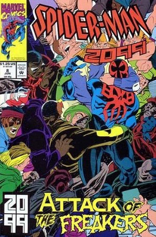 Cover of Spider-Man 2099 (Vol 1) #8. One of 250,000 Vintage American Comics on sale from Krypton!