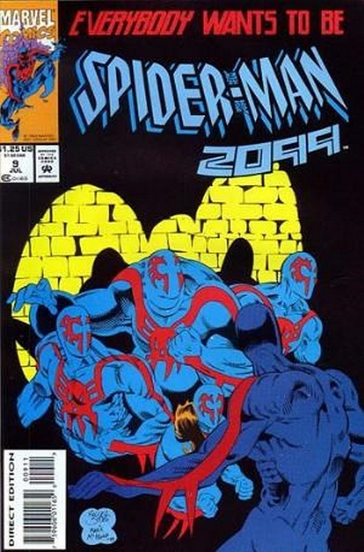 Cover of Spider-Man 2099 (Vol 1) #9. One of 250,000 Vintage American Comics on sale from Krypton!