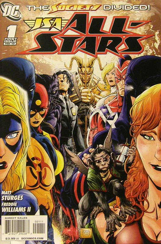 Cover of JSA All Stars (Vol 1) #1. One of 250,000 Vintage American Comics on sale from Krypton!