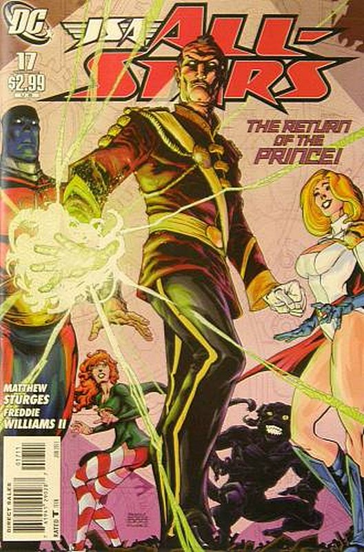 Cover of JSA All Stars (Vol 1) #17. One of 250,000 Vintage American Comics on sale from Krypton!