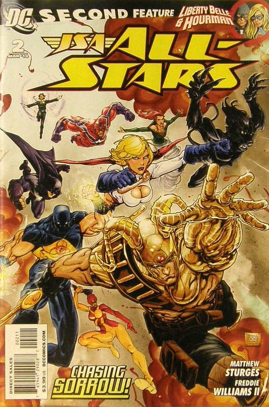 Cover of JSA All Stars (Vol 1) #2. One of 250,000 Vintage American Comics on sale from Krypton!