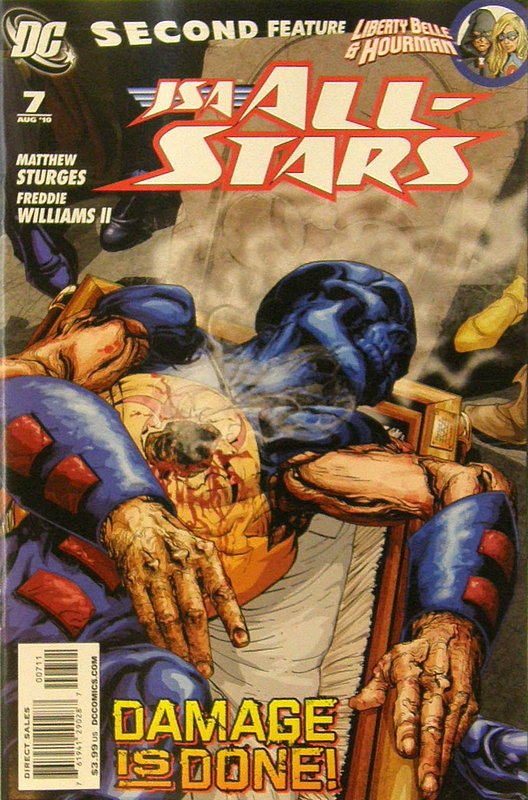 Cover of JSA All Stars (Vol 1) #7. One of 250,000 Vintage American Comics on sale from Krypton!