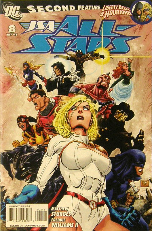 Cover of JSA All Stars (Vol 1) #8. One of 250,000 Vintage American Comics on sale from Krypton!
