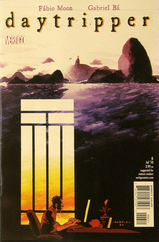 Cover of Daytripper (2009 Ltd) #6. One of 250,000 Vintage American Comics on sale from Krypton!