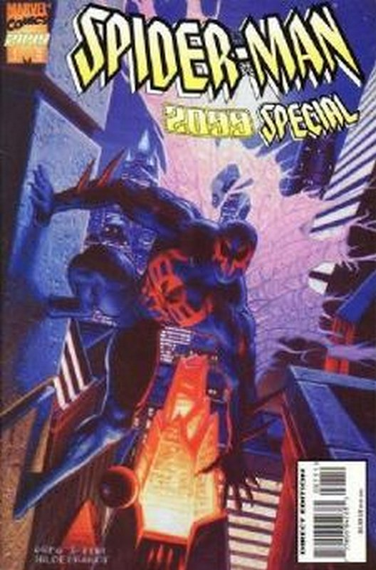 Cover of Spider-Man 2099 Special (1995 One Shot) #1. One of 250,000 Vintage American Comics on sale from Krypton!