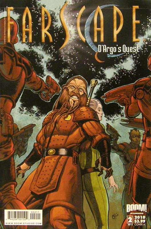Cover of Farscape: Dargos Quest (2009 Ltd) #2. One of 250,000 Vintage American Comics on sale from Krypton!