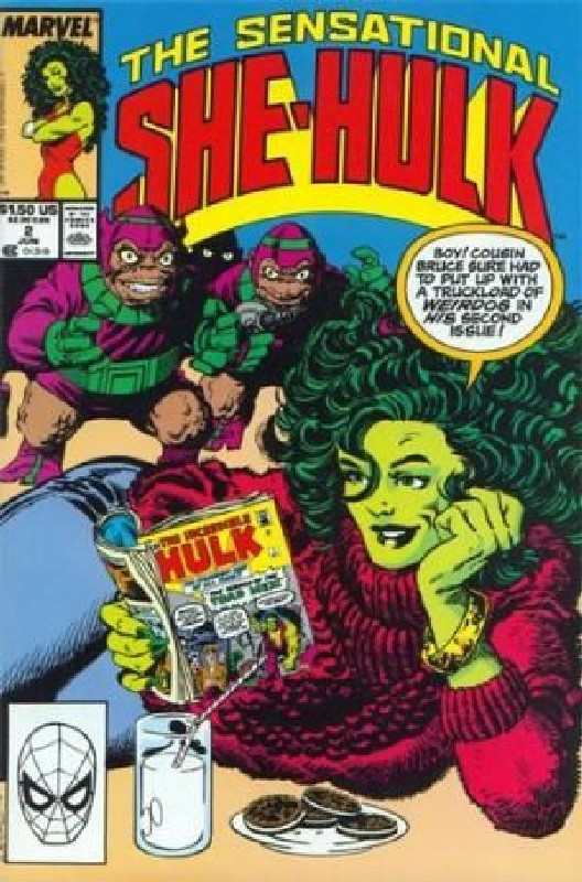 Cover of She-Hulk (Vol 2) The Sensational #2. One of 250,000 Vintage American Comics on sale from Krypton!