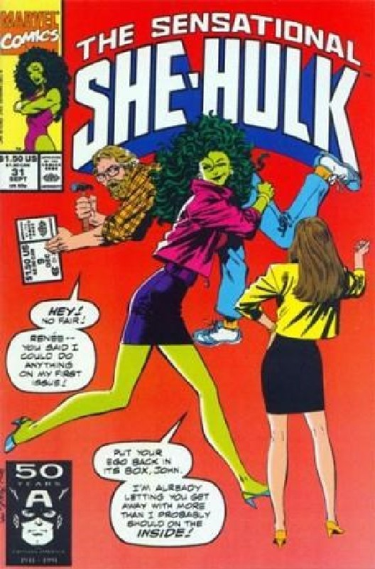 Cover of She-Hulk (Vol 2) The Sensational #31. One of 250,000 Vintage American Comics on sale from Krypton!