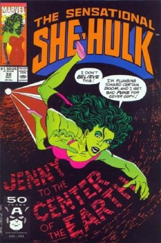 Cover of She-Hulk (Vol 2) The Sensational #32. One of 250,000 Vintage American Comics on sale from Krypton!