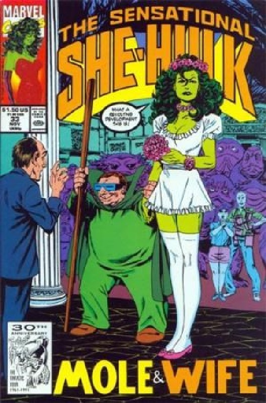 Cover of She-Hulk (Vol 2) The Sensational #33. One of 250,000 Vintage American Comics on sale from Krypton!