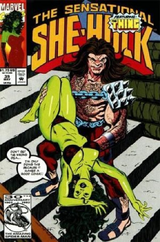 Cover of She-Hulk (Vol 2) The Sensational #39. One of 250,000 Vintage American Comics on sale from Krypton!