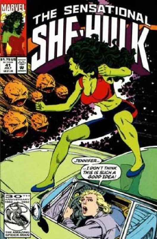 Cover of She-Hulk (Vol 2) The Sensational #41. One of 250,000 Vintage American Comics on sale from Krypton!