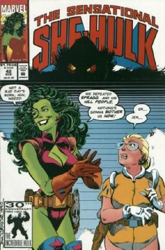 Cover of She-Hulk (Vol 2) The Sensational #42. One of 250,000 Vintage American Comics on sale from Krypton!