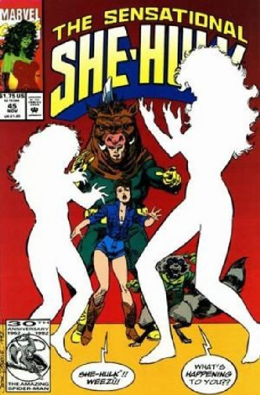 Cover of She-Hulk (Vol 2) The Sensational #45. One of 250,000 Vintage American Comics on sale from Krypton!