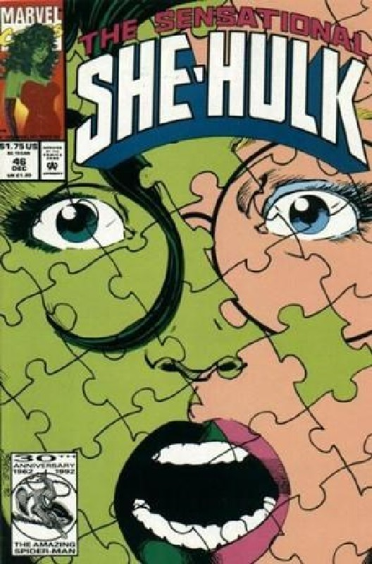 Cover of She-Hulk (Vol 2) The Sensational #46. One of 250,000 Vintage American Comics on sale from Krypton!