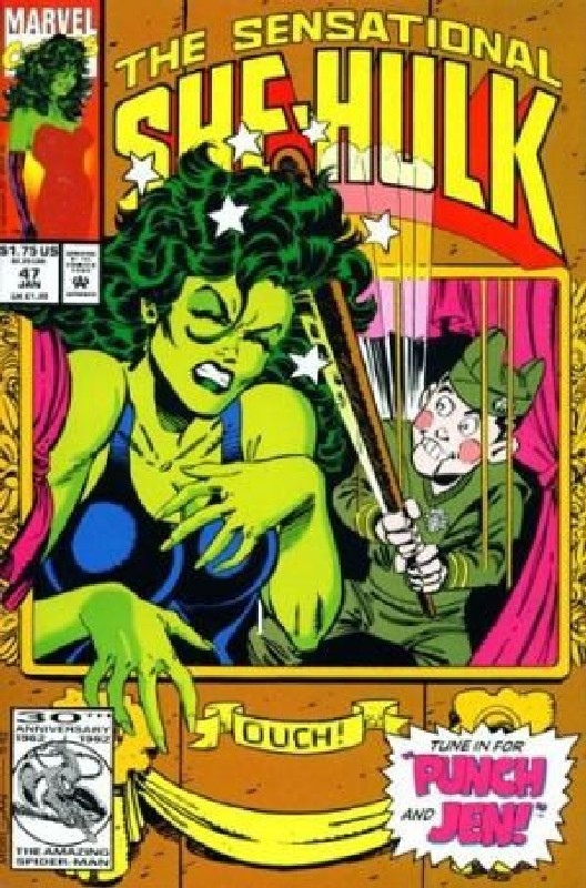 Cover of She-Hulk (Vol 2) The Sensational #47. One of 250,000 Vintage American Comics on sale from Krypton!