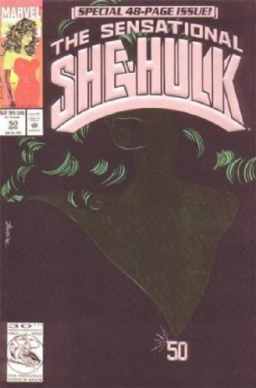 Cover of She-Hulk (Vol 2) The Sensational #50. One of 250,000 Vintage American Comics on sale from Krypton!