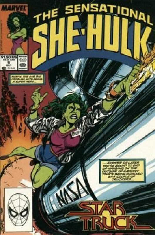 Cover of She-Hulk (Vol 2) The Sensational #6. One of 250,000 Vintage American Comics on sale from Krypton!