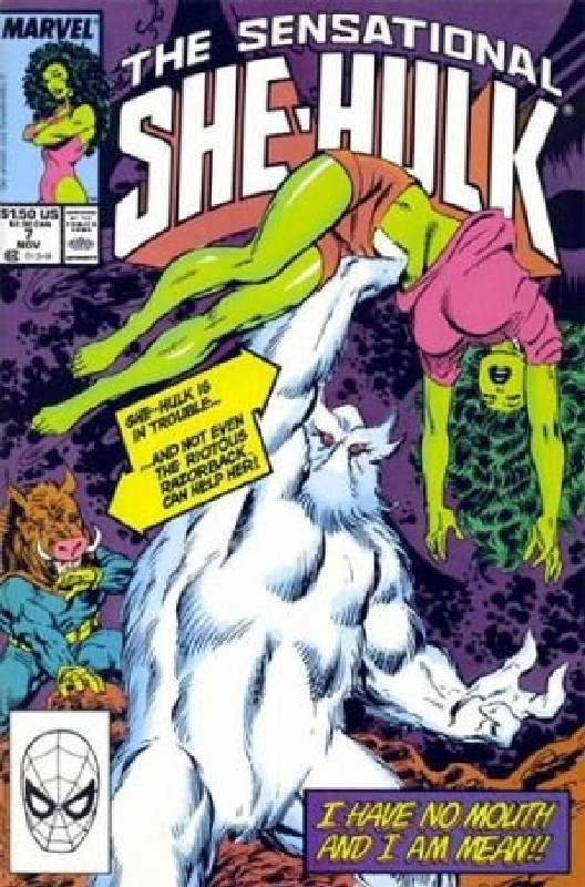 Cover of She-Hulk (Vol 2) The Sensational #7. One of 250,000 Vintage American Comics on sale from Krypton!