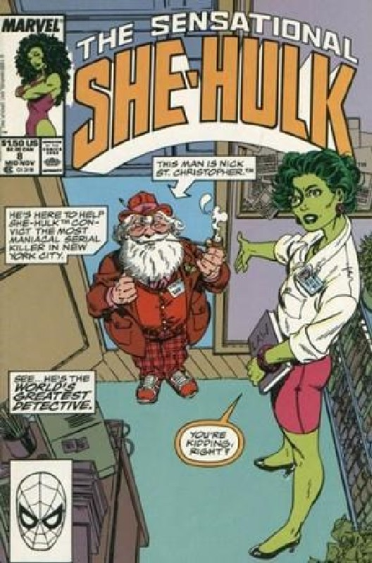 Cover of She-Hulk (Vol 2) The Sensational #8. One of 250,000 Vintage American Comics on sale from Krypton!